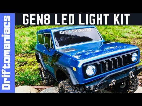 LED Light Kit For RedCat Gen 8 Demo And Fitting