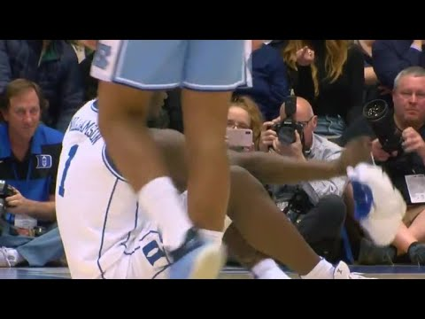 51bb2eeddee Nike vows investigation after Duke star s shoe blows out - YouTube