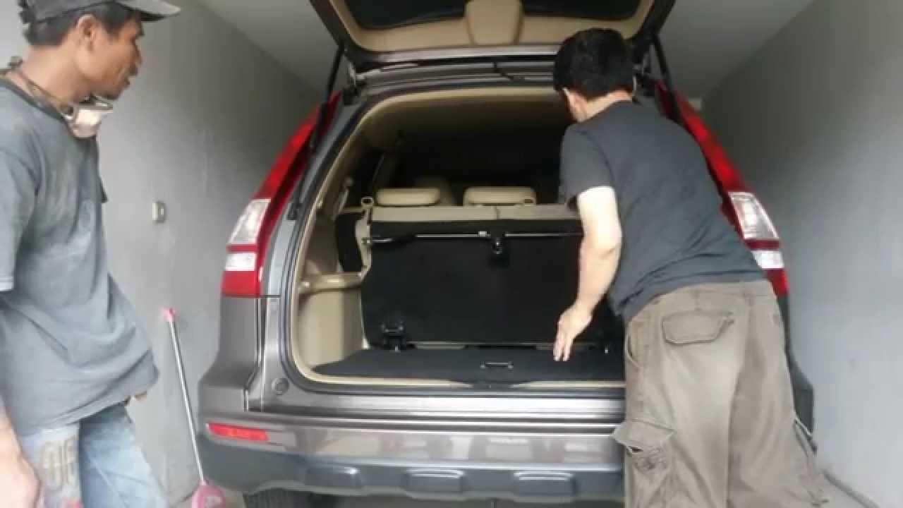 Honda Cr V 3rd Row Seat Modification Version 2 Foldable Youtube