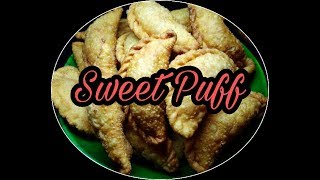 Sweet Puff    Karjikai    Karanji Recipe    Sweet Somas    Ganesha Chaturthi Special