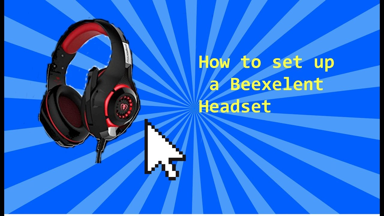 How to set up beexcellent headset with PS4