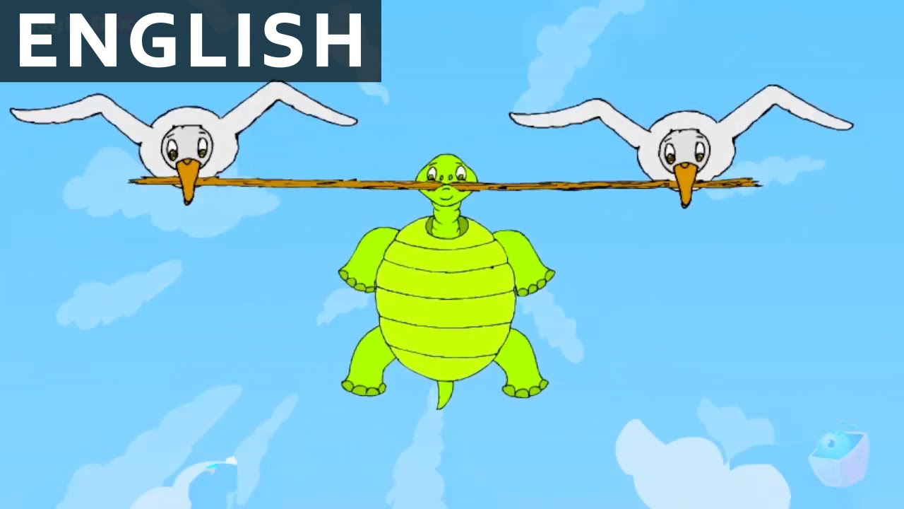 A Foolish Tortoise - Panchatantra In English - Cartoon / Animated Stories  For Kids