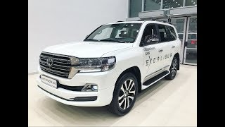Новый Toyota Land Cruiser 200 2018: цена, фото, характеристики, видео TLC 200