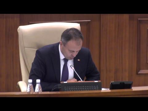 Şedinţa Parlamentului Republicii Moldova 10.11.2017