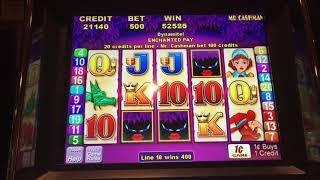 Cashman Magic Eyes Jackpot Handpay two wins on same slot, didn