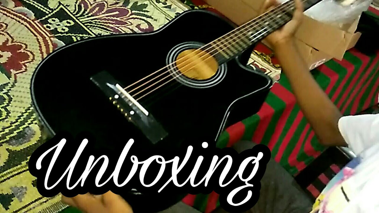 Unboxing Of Juarez Acoustic 38 Inch Guitar In Hindi Youtube