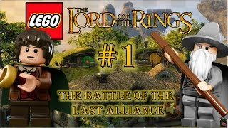 LEGO The Lord of the Rings (3DS) - Part 1: The Battle of the Last Alliance
