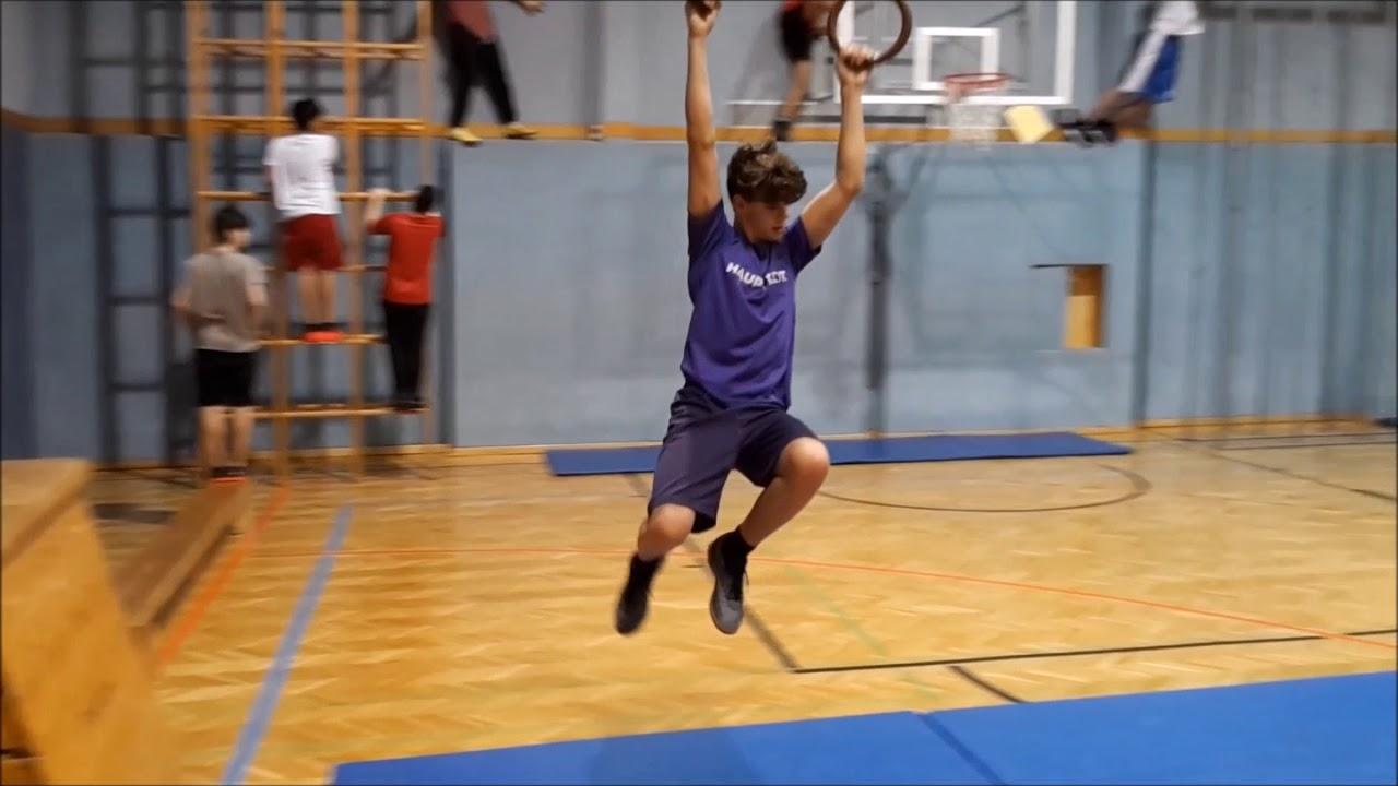 Ninja Warrior kompletter Parcours