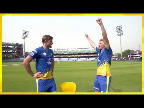 Sam Billings & David Willey Act | Word Game | Dont Miss The Moment At 1:12 | CSK