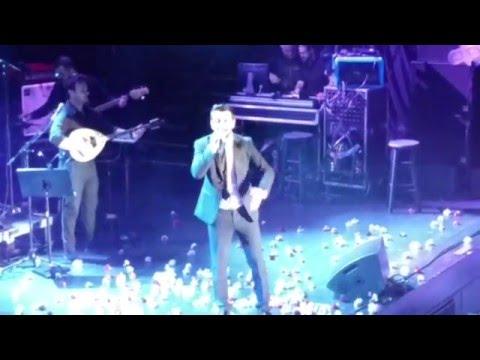 Greek Singer Thanos Petrelis Boston Live Concert Music Clip
