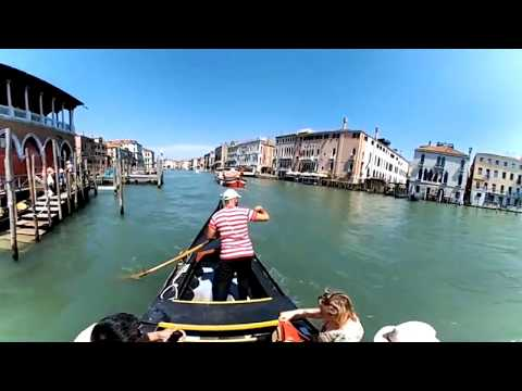 Venice, Italy: Cross the Grand Canal on a Gondola  in Virtual Reality