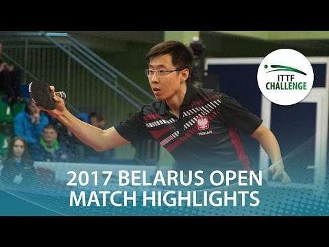 2017 Belarus Open Highlights: Wang Zeng Yi vs Kalinikos Kreanga (R16)