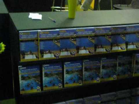 AA Travel Guides stand at the 2008 Beeld Holiday Expo