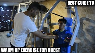 Best Chest Warm Up Exercises | Warm Up Exercises Before Workout