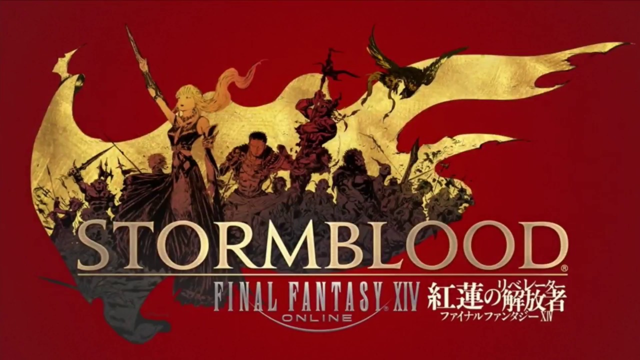 FFXIV Letter From Producer LIVE at E3 2017   Stormblood Launch