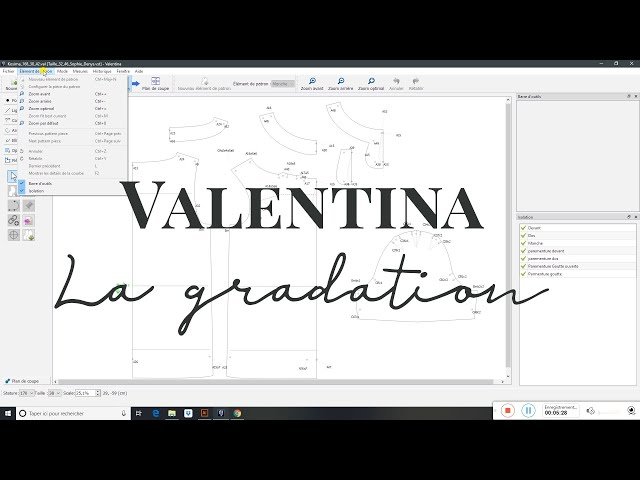 [Valentina/Seamly2d] La gradation