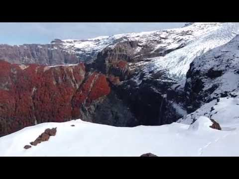 The Waterfall off Mount Tronador- Patogonia, Argentina