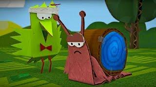 Бумажки -Тише едешь - мультфильм для детей - поделки своими руками