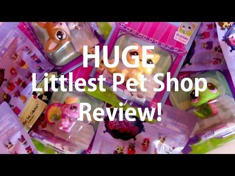 HUGE Littlest Pet Shop Review! (Part 1 - Littlest Pet Shop Singles)