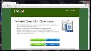 How to Recover Deleted Partitions in Windows 7
