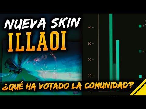 La NUEVA SKIN de ILLAOI es... ¿Qué ha VOTADO la COMUNIDAD? | Noticias League Of Legends LoL