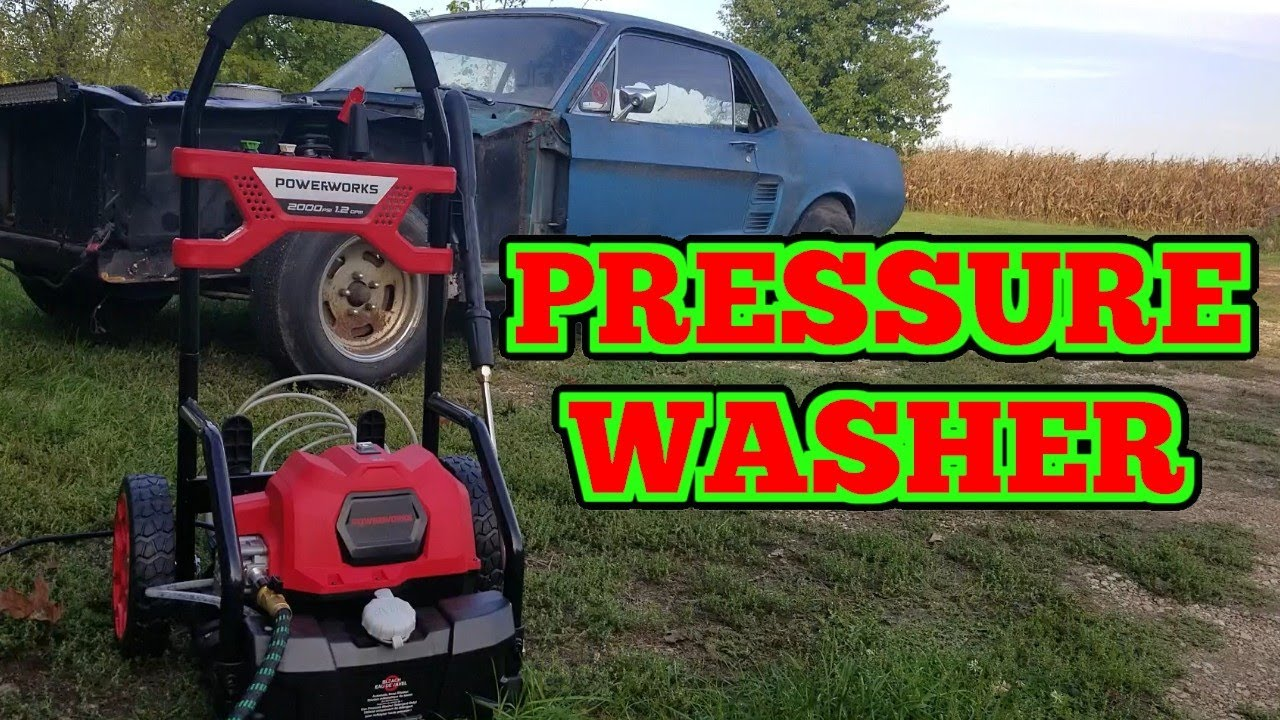 Download [30% Code, $20 Coupon, Limited Time] PowerWorks 2000 PSI Electric Pressure Washer!