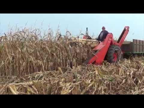 Half Century of Progress Show 2015 - Rantoul Illinois - Corn Picking.