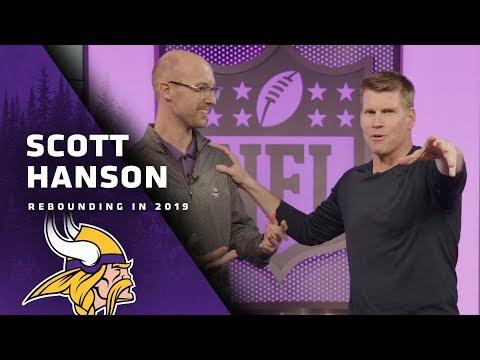 Scott Hanson On Having The Coolest Job In The NFL, Minneapolis Miracle Reaction | Minnesota Vikings