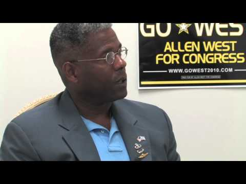 "Allen West interview: ""Institutional racism is gone."""