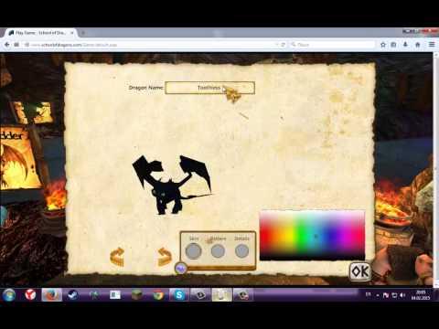 Как сделать читерского беззубика в игре SchoolOfDragons