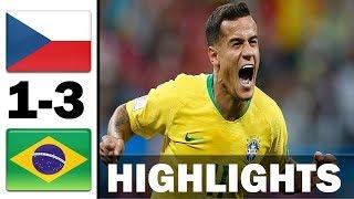 Czech Republic vs Brazil 1-3 | All Gоals & Extеndеd Hіghlіghts 2019