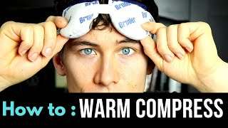 Eyelid Warm Compress - Easy Hot Compress for Dry Eyes