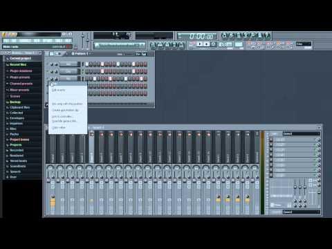 Tutorial para (Principiantes) Como crear Musica Electronica En Fl studio