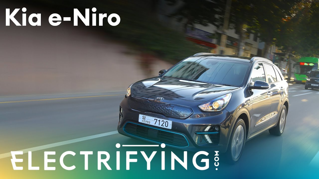 2020 Kia e-Niro: In-depth studio review with Tom Ford and Ginny Buckley / Electrifying