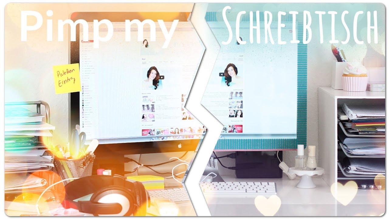 Schreibtisch makeover interaktiv youtube for Schreibtisch dekorieren diy