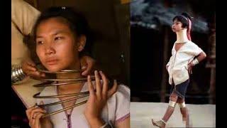 "Suku Leher Panjang"" Thailand, Seumur Hidup Cincin Ini Cuman Boleh Dilepas 3 Kali !"