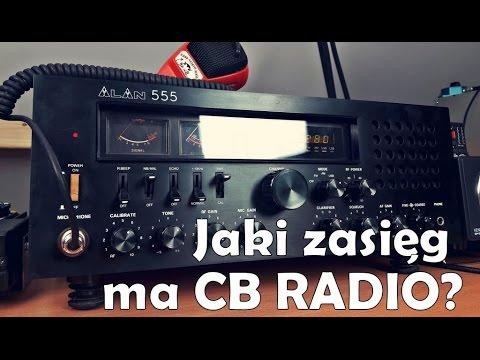 Jaki zasięg ma cb radio?