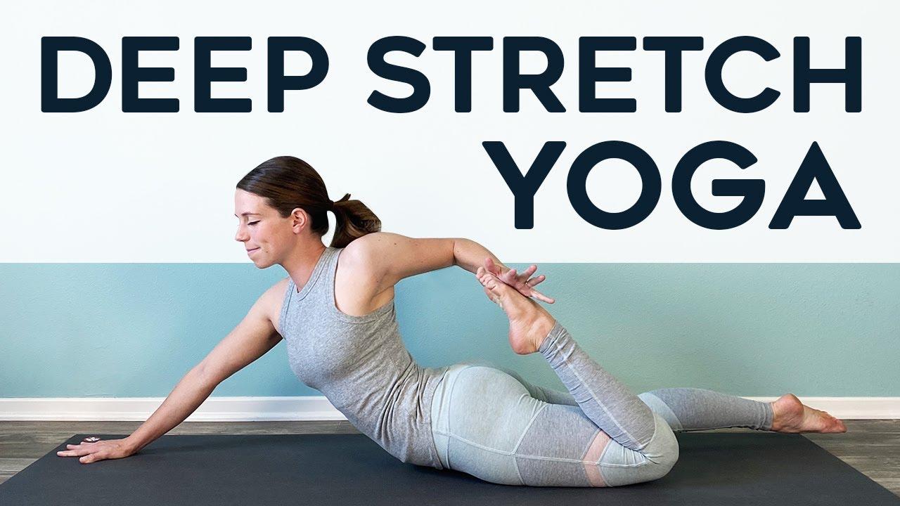 DEEP STRETCH YOGA for full body flexibility