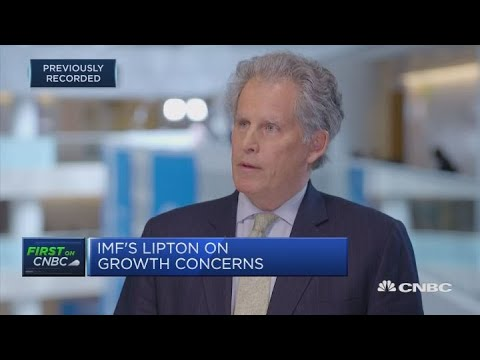 This economic slowdown has come quicker than expected: IMF's Lipton   Street Signs Europe