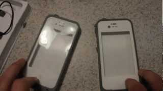 Fake LifeProof Case Vs Real LifeProof Case iphone 4s/4