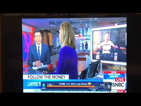 Why Did MSNBC Show Photo Of Stormy Daniels Strapped With Boobs Popping Out?