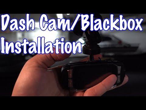 Dash Cam:Black Box Installation On BMW 5 Series