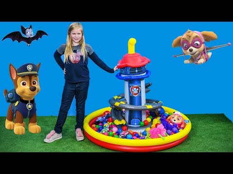 It's the PawPatrol Lookout Tower Ball Pit with by Vampirina Toys