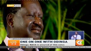 Live At 9: One on one with Raila Odinga
