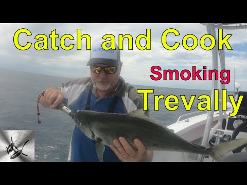 Fishing For Reef Fish  Catch & Cook |Fishing & Cooking Smoked Trevally| Paul Breheny