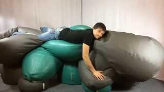 Что делать если у вас очень много кресел | Кресла мешки, груши, мячи ТМ PromoPuff(Бескаркасная мебель ТМ PromoPUFF - это сотни всевозможных расцветок, качественные ткани и бесплатная доставка..., 2015-05-15T08:45:58.000Z)