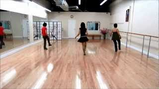 Sideway Shuffle ~ Kate Sala - line dance (dance & walk through)