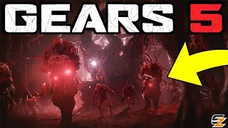 Gears of War 5 - Kait Diaz Locust Connection, New Swarm Bosses & More! (E3 2018 Trailer Breakdown)