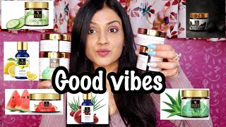 GOOD VIBES PRODUCT REVIEW   Good Vibes Gels   Good Vibes Essential Oils   Good Vibes Charcoal Mask