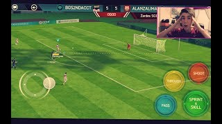 FIFA 18 Mobile *INTENSE* GAMEPLAY!! NEW Squad Builder! 83 OVR Starter Team! | FIFA Mobile 18 S2